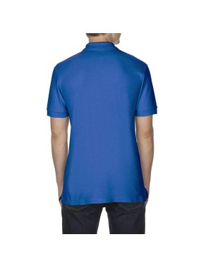 Pánska polokošeľa (GILDAN COTTON ADULT DOUBLE PIQUÉ POLO)>modrá (royal)>S