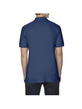 Pánska polokošeľa (GILDAN COTTON ADULT DOUBLE PIQUÉ POLO)>modrá (navy)>3XL