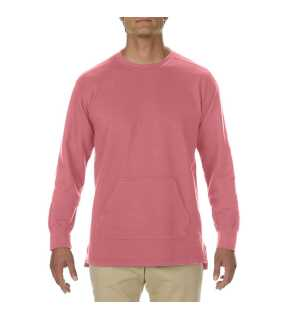 "Unisex mikina (Comfort Colors""ADULT FRENCH TERRY CREWNECK"")>ružová (watermelon)>M"