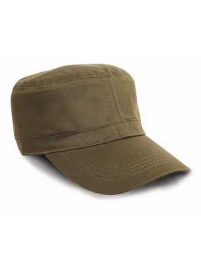 Šiltovka (RESULT URBAN TROOPER FULLY LINED CAP)>zelená (olive)