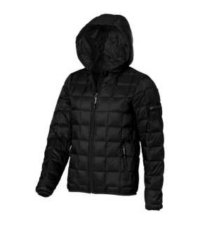 Dámska bunda (ELEVATE Kanata Hooded Ladies Down jacket) > čierna > M