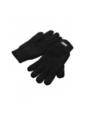 Zimné rukavice (RESULT CLASSIC FULLY LINED THINSULATE™ GLOVES)>čierna>S/M