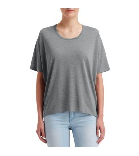 "Dámske tričko (Anvil""WOMEN'S FREEDOM TEE"")>šedá (heather graphite)>XL"