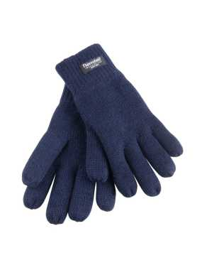 Zimné rukavice (RESULT JUNIOR CLASSIC FULLY LINED THINSULATE™ GLOVES)>modrá (navy)