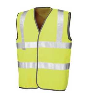 Reflexná vesta (RESULT SAFEGUARD HIGH VIZ VEST)>žltá>L/XL