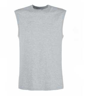 Pánske tielko (FRUIT OF THE LOOM Tank Top )>šedá (heather)>M