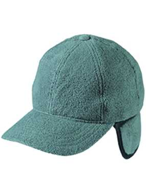 6 panelová šiltovka (MB 6 Panel Fleece Cap with Earflaps)>šedá
