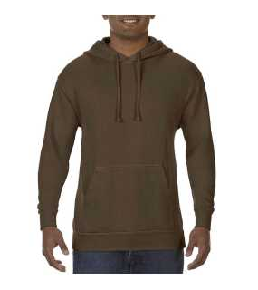 Pánska mikina(COMFORT COLORS ADULT HOODED SWEATSHIRT) > hnedá (chocolate) > 3XL