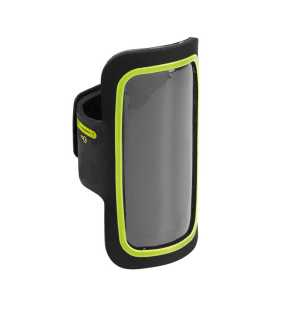 Púzdro na mobil (KIMOOD SMARTPHONE ARM-HOLDER WITH COLOURED CONTOUR) > zelená (lime)