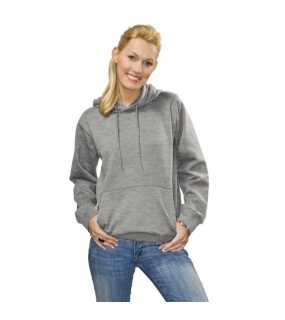 Dámska mikina(Hooded Sweatshirt STEDMAN)>šedá (heather)>M
