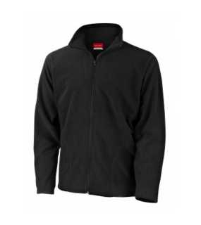 Unisex bunda (RESULT MICRON FLEECE)>čierna>L