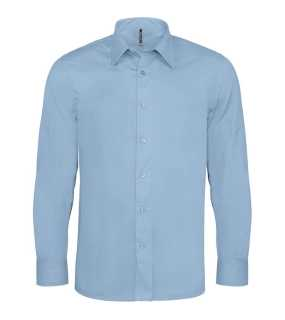 Pánska košeľa (KARIBAN MENS LONG SLEEVE SHIRT)>modrá (light)>M