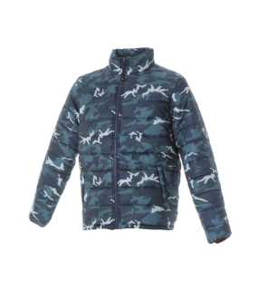 06dc41a5ec73 Pánska bunda (KOREA by JR)   modrá (camouflage)   L