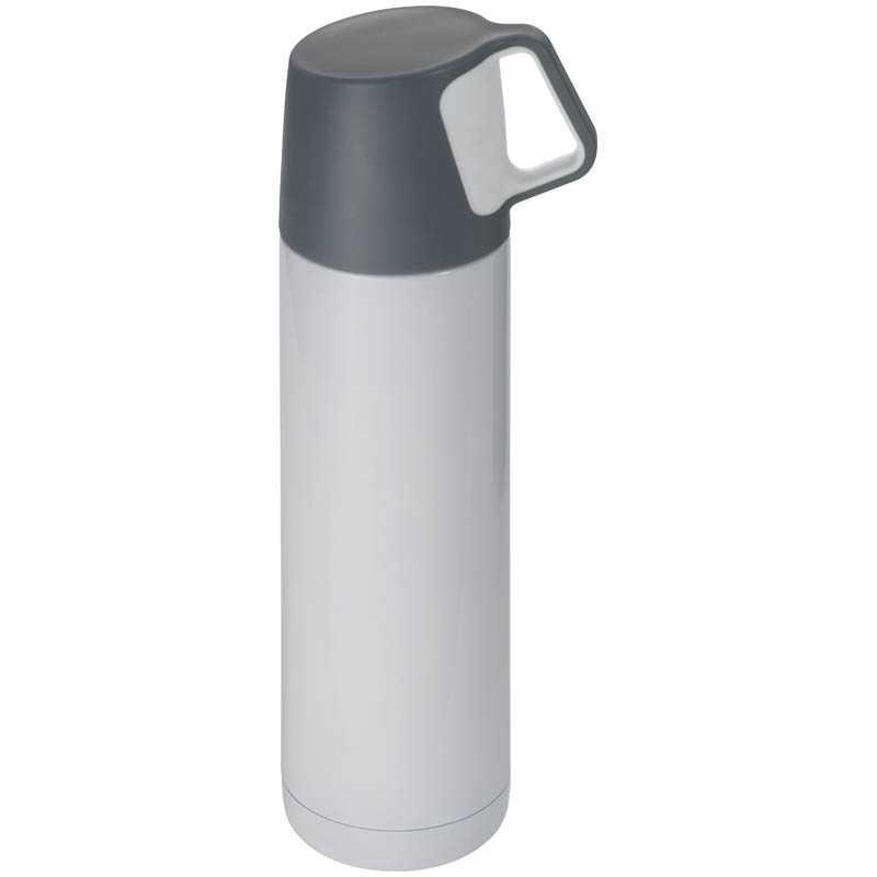 Nerezová termoska   biela - REPRE - reklamné predmety f704a1c8f8e