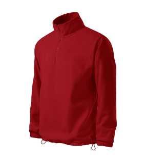 46559289fd60 Pánska mikina (ADLER Horizon fleece)   červená   XL