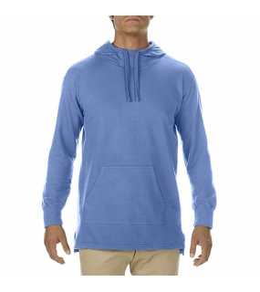 "Unisex mikina (Comfort Colors""ADULT FRENCH TERRY SCUBA HOODIE"") > modrá (flo) > XL"