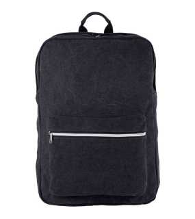 "Ruksak (Kimood""COTTON CANVAS BACKPACK"") > čierna (washed)"