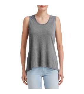 "Dámske tielko (Anvil""WOMEN'S FREEDOM SLEEVELESS TEE"")>šedá (heather graphite)>M"