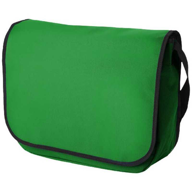 b2d2187cb6 Taška na rameno   zelená (bright) - REPRE - reklamné predmety