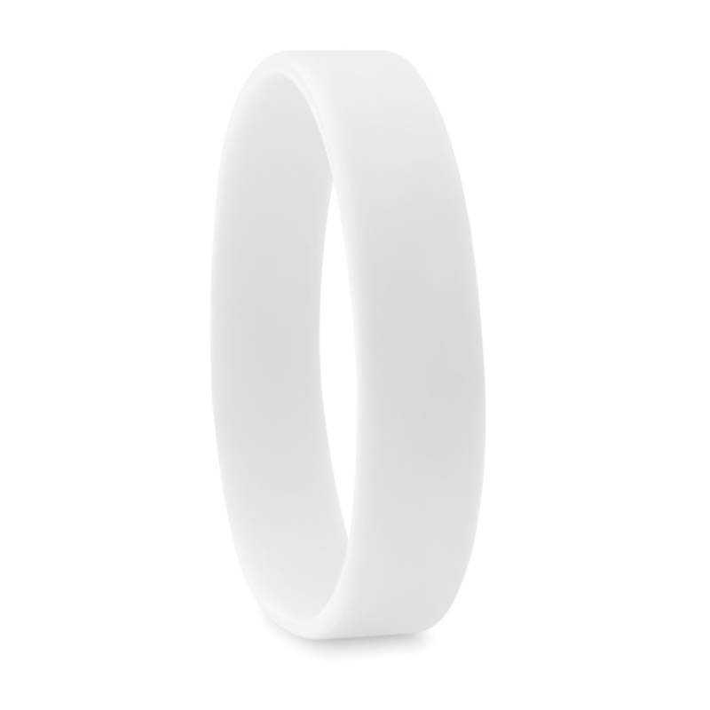 a058265fc Silikonový náramok > biela - REPRE - reklamné predmety