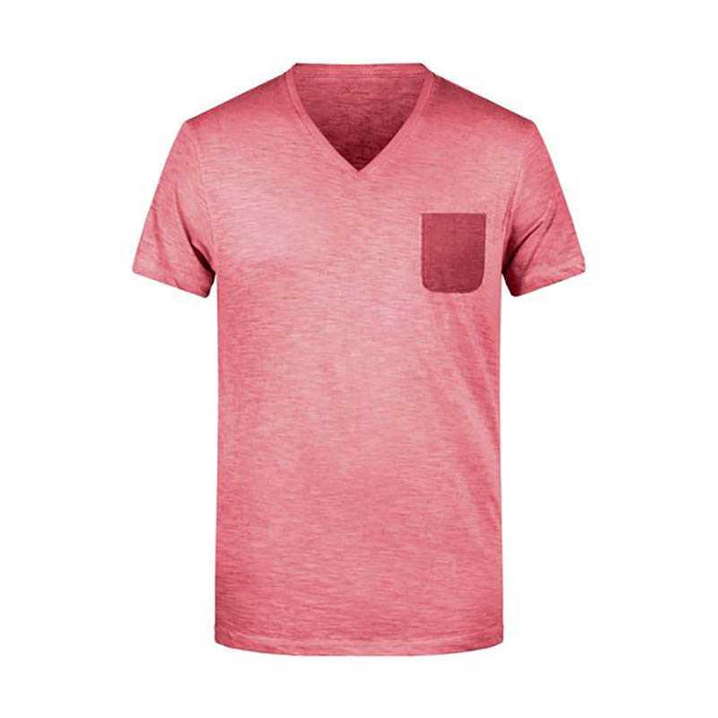 9242e6470698 Pánske tričko(JN Mens Slub-T) červená (chili) L - REPRE - reklamné ...