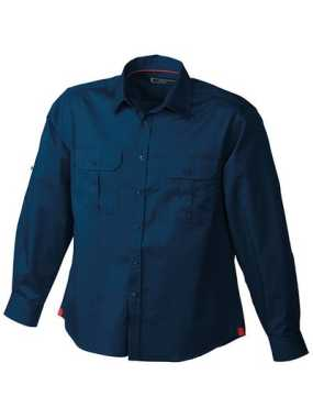 Pánska košeľa (JN Men's Travel Shirt Roll-up Sleeves)>modrá (navy)>2XL