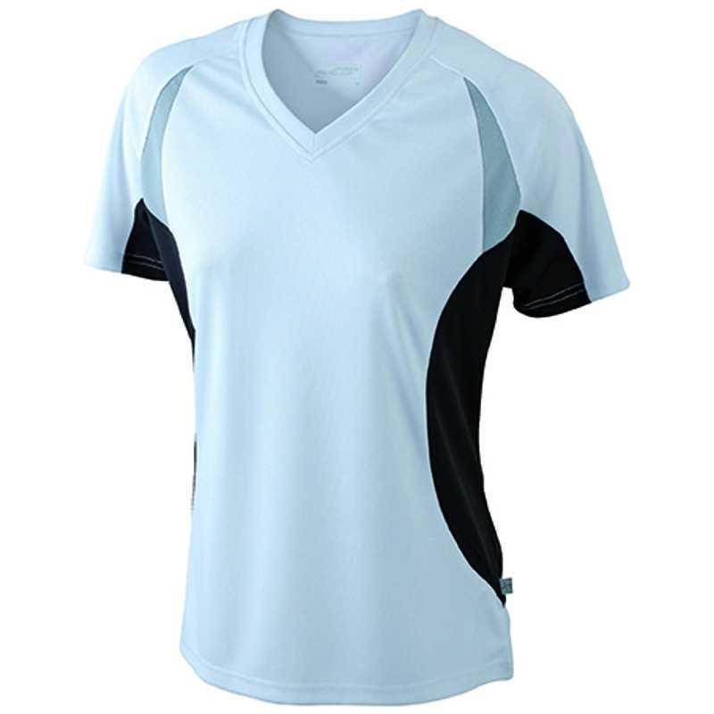 73e4cd6ca6d3 Dámske tričko (JN Ladies  Running-T) biela   čierna S - REPRE ...