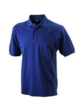 Pánska polokošeľa (JN Men's Polo Pocket) > modrá (navy) > 3XL