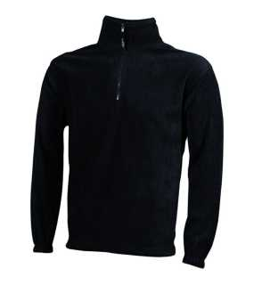 Pánska fleece bunda (JN Half-Zip Fleece)>šedá (dark)>XL