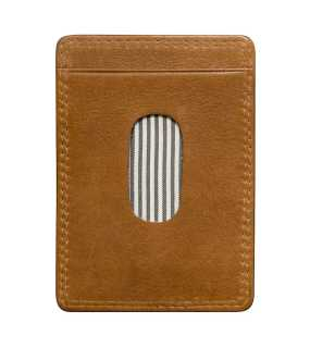 Obal na karty (James Harvest CARD HOLDER) > hnedá (cognac)