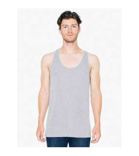 Unisex tielko (AMERICAN APPAREL UNISEX TRI-BLEND TANK TOP) > šedá (athletic) > M