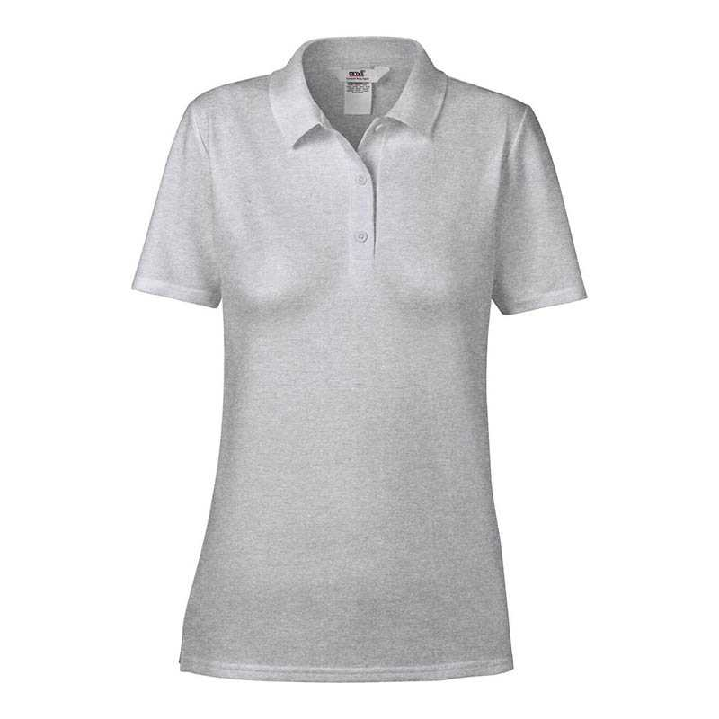 Dámska polokošeľa (ANVIL WOMENS DOUBLE PIQUÉ POLO) > šedá (heather) > 2XL