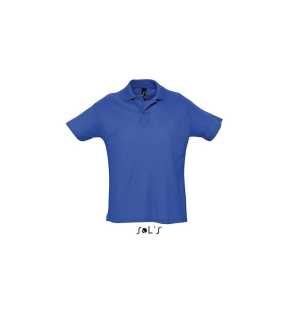 Pánska polokošeľa (SOL'S SUMMER II MEN'S POLO SHIRT) > modrá (royal) > L