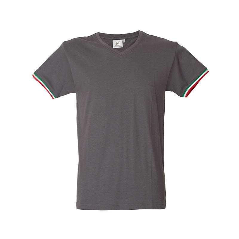 fa7e3cf9afad Pánske tričko (NEW MILANO by JR )   šedá   2XL - REPRE - reklamné ...