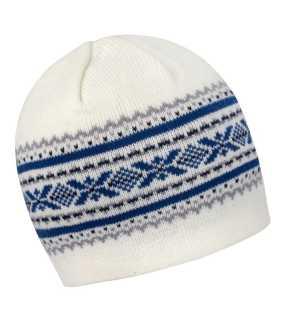 b860e47cc79 Zimná čiapka (RESULT ASPEN KNITTED HAT) biela   šedá