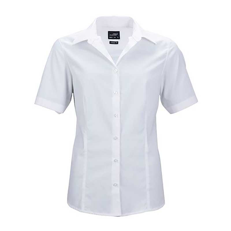 ecd824e2cbb6 Dámska košeľa (JN Ladies Business Shirt Shortsleeve)   biela   XS ...