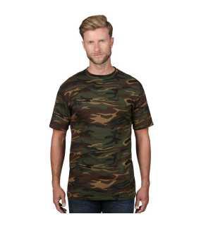 1e192bce3c0 Pánske tričko (ANVIL HEAVYWEIGHT CAMOUFLAGE TEE)   zelená (camouflage)   M