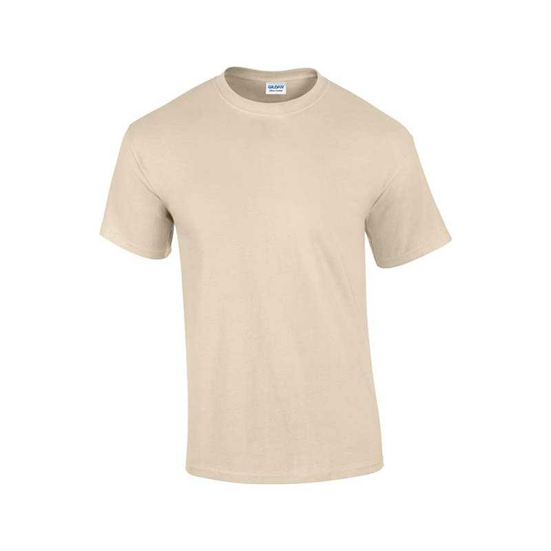 Unisex tričko (GILDAN ULTRA COTTON ADULT T-SHIRT)>hnedá (sand)>3XL