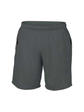 Unisex krátke nohavice (GILDAN ADULT SHORTS WITH POCKET) > šedá (charcoal) > S