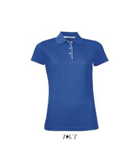 Dámska polokošeľa (SOLS PERFORMER WOMEN WOMENS SPORTS POLO SHIRT) > modrá (royal) > M
