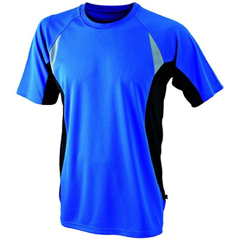 af72e65cbe7c Pánske tričko (JN Men s Running-T) modrá (royal)   čierna 2XL ...