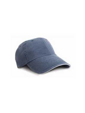 Šiltovka (RESULT WASHED FINE LINE COTTON CAP)>modrá (navy) / béžová (putty)