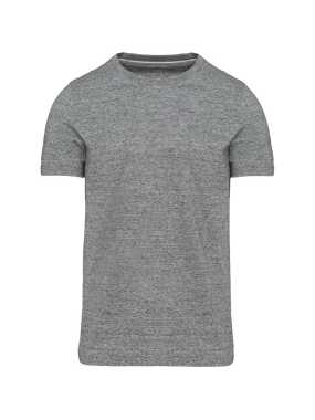 Pánske tričko (KARIBAN MEN'S VINTAGE SHORT SLEEVE T-SHIRT)>šedá (slub heather)>2XL