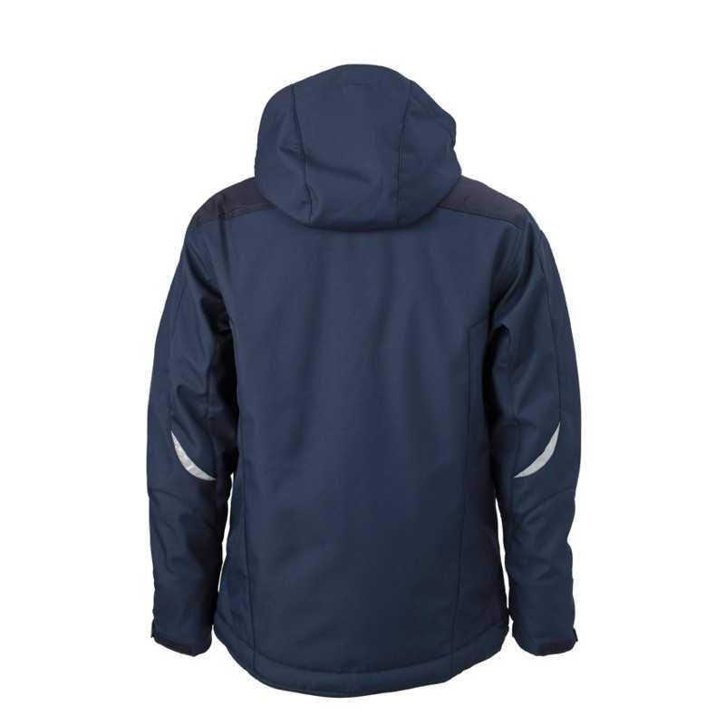 Pánska bunda (JN Craftsmen Softshell Jacket) modrá (navy) XL - REPRE ... 1bc49210ef7