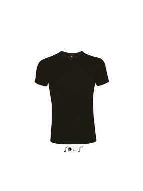 Pánske tričko (MENS ROUND COLLAR CLOSE FITTING T-SHIRT) > čierna (deep) > 2XL
