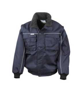 Unisex bunda (RESULT WORKGUARD PILOT JACKET)>modrá (navy)>L