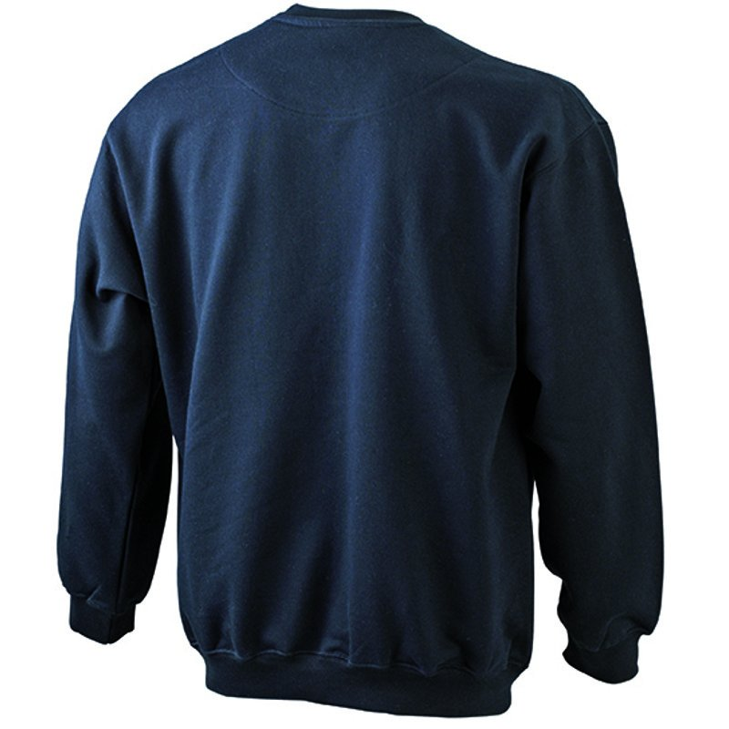 96293200e Pánska mikina (JN Men's Round Sweat Pocket)>čierna>S - REPRE ...