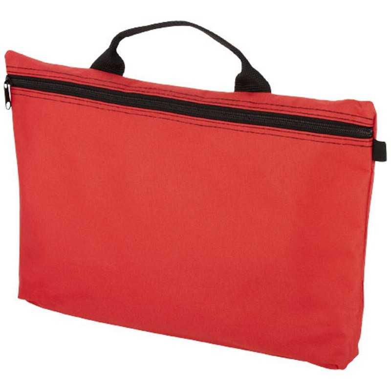 99880979a4 Taška na dokumenty   červená   čierna - REPRE - reklamné predmety