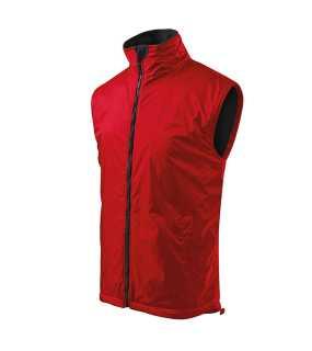 27dc346f1812 Pánska vesta (ADLER Body Warmer)   červená   XXL