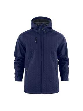 Pánska bunda (James Harvest MYERS SOFTSHELL JACKET) > modrá (navy) > 2XL